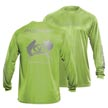 Flying Fisherman TL1400LL Passport Long Sleeve Performance Tee Lime L