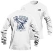 Flying Fisherman TL1702WL Moondance Long Sleeve Tee White L