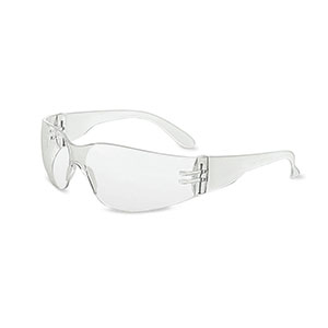 Honeywell XV100 Safety Eyewear, Frosted Frame, Clear Lens, Scratch-Resistant Hardcoat Lens Coating - XV100