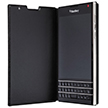 Blackberry Passport Genuine Leather Flip Case (Black) - ACC-59524-001