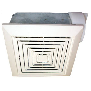USI Electric Bath Exhaust Fan with 4-Inch Vent and Custom-Designed Motor, 50 CFM (BF-504)