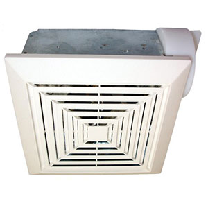 USI Electric Bath Exhaust Fan with 4-Inch Vent and Custom-Designed Motor, 70 CFM (BF-704)