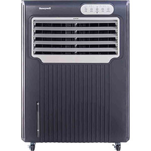 Honeywell CO70PE 70 Liter Indoor-Outdoor Portable Evaporative Air Cooler with Remote Control (Grey)