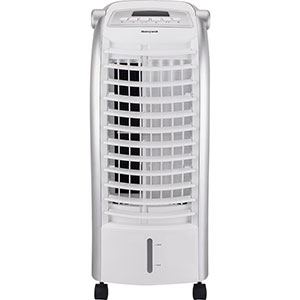 Honeywell CS074AE Indoor Portable Evaporative Cooler with Remote Control and Ice Pack - 6 Liter (White)