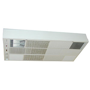 Honeywell F57A1044 Flush Mounted Electronic Air Cleaner with Two Heavy Duty Commercial Cells, 1030 CFM