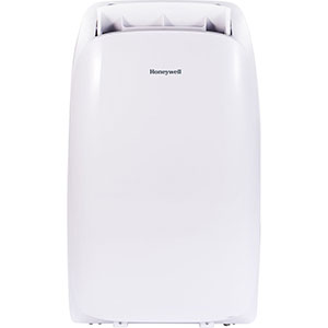 Honeywell HL14CHESWW Portable Air Conditioner 14,000 BTU Cooling With Heating, LED Display, Single Hose (White)