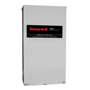Honeywell RXSM200A3 Single Phase 200 Amp/240 Volt Sync Transfer Switch, Service-Rated
