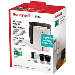 Honeywell True HEPA Filter Value Combo Pack (2 HEPA filters and 1 Pre-filter), HRF-ARVP
