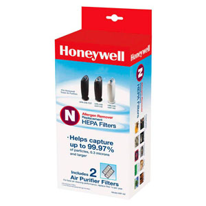 Honeywell Filter N True HEPA Replacement Filter - 2 Pack, HRF-N2