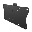 Level Mount Low Profile Stamped Fixed Flat Panel TV Wall Mount for 10-30 Inch Flat Panel TVs up to 60 LBS - LM30SW