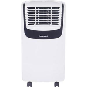 Honeywell MO08CESWK Compact Portable Air Conditioner with Dehumidifier and Fan (White/Black)