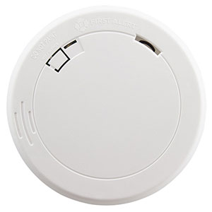 First Alert PR710 10-Year Sealed Battery Photoelectric Smoke Alarm (1039852)