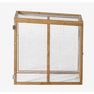 Patio Wise Add-On Chicken Coop Side Run, Fits on Modular Coops - PWCC-008SR