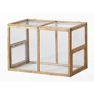 Patio Wise Rabbit/Chicken Pen, Stand Alone or Fits on Patio Wise Modular Coops - PWCR-002