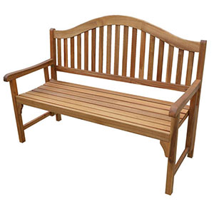 Patio Wise Classic Wooden Folding Bench 3 Seater, Acacia Wood - PWFN-030