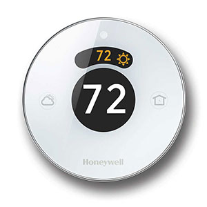 Honeywell Lyric Round Wi-Fi Thermostat, RCH9310WF (Second Generation)