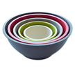 Yumi Earth+ Eco Bamboo 5 Piece Stackable Serving Bowl Set